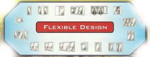 flexible-design kusen UPVC