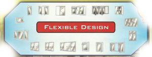 flexible-design kusen UPVC